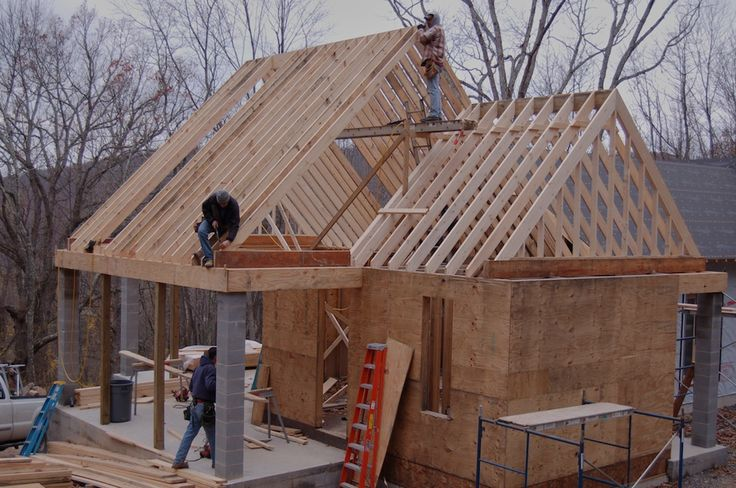 Best How To Build A Gable Roof And Extend The Roof Overhang 400 x 300