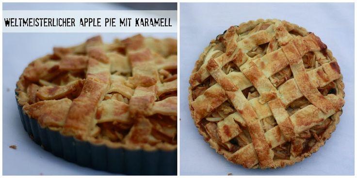 """Auf diesem Blog gibt es bereits einige Apfelkuchenrezepte, unter anderem auch das für den """"Weltbesten Apfelkuchen"""". Scheinbar hab ich mich geirrt. Denn am Wochenende habe ich einen noch köstlicheren Apple Pie kennengelernt! Beim Verpoorten-Backworkshop in Hamburg haben wir gleich zwei wunderbare Apfelkuchen gebacken, und das Rezept für den Apple Pie möchte ich hier gerne mit … Mehr →"""