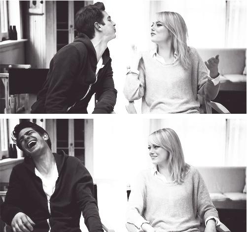 Honestamente jamás me han llamado la atención las parejas de Hollywood ni nada de esas cosas, pero estos dos son demasiado lindos como para ignorarlos