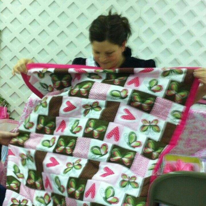 Anniston baby quilt