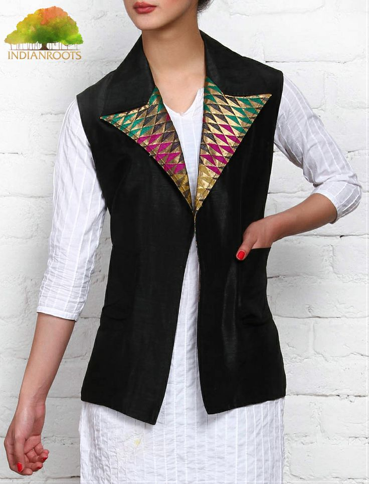 #Silk #Coat by Lavennder at Indianroots.com