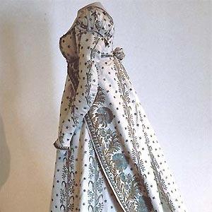 Vestido de corte de la emperatriz Josefina. #Malmaison