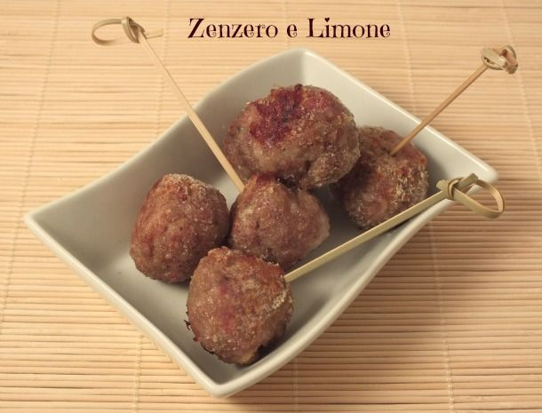 polpettine al forno http://blog.giallozafferano.it/paola67/polpette-di-carne-al-forno-ricetta-light/