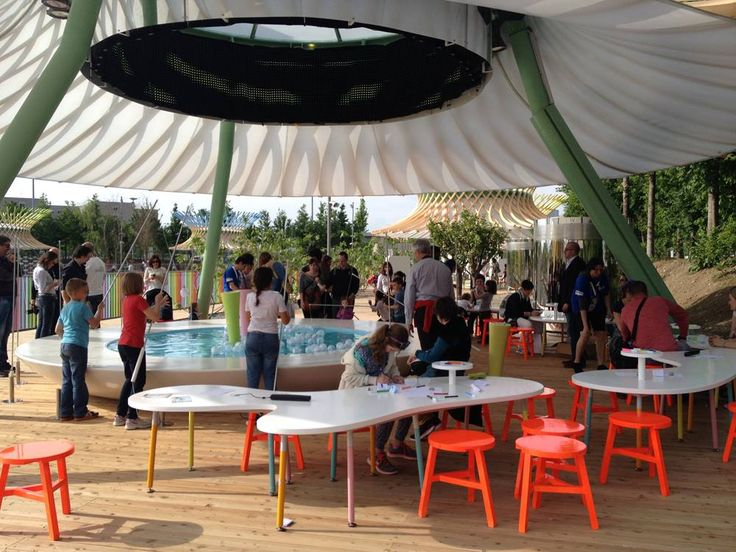 Play+ at Children Park EXPO2015, project by ZPZ Partners