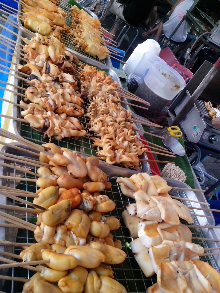 Must Try this Squid...Love the Ingredients so Yummy # street food