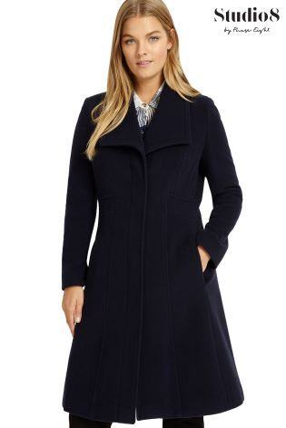 Studio 8 Blue Hayley Coat