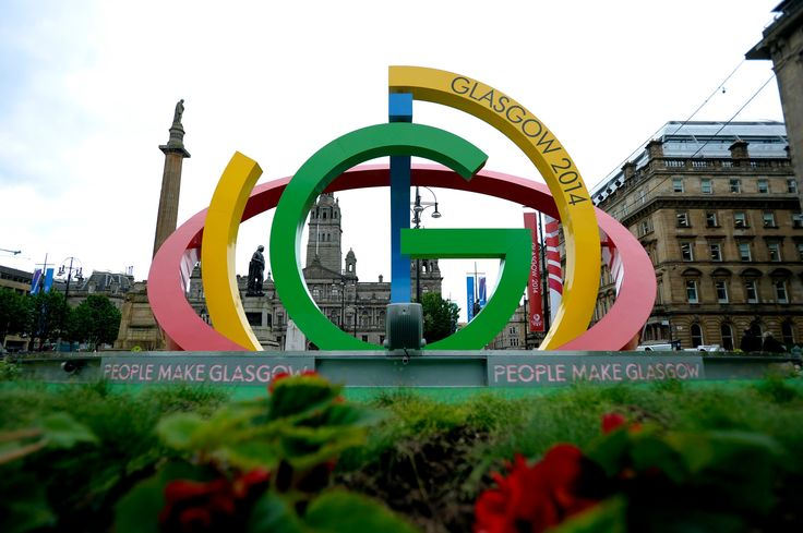 The spectacular time lapse video of the build and installation of #TheBigG in Glasgow's George Square.    The Big G is at the heart of a major programme of activity lead by Glasgow City Council to dress the city for the Glasgow 2014 Commonwealth Games.