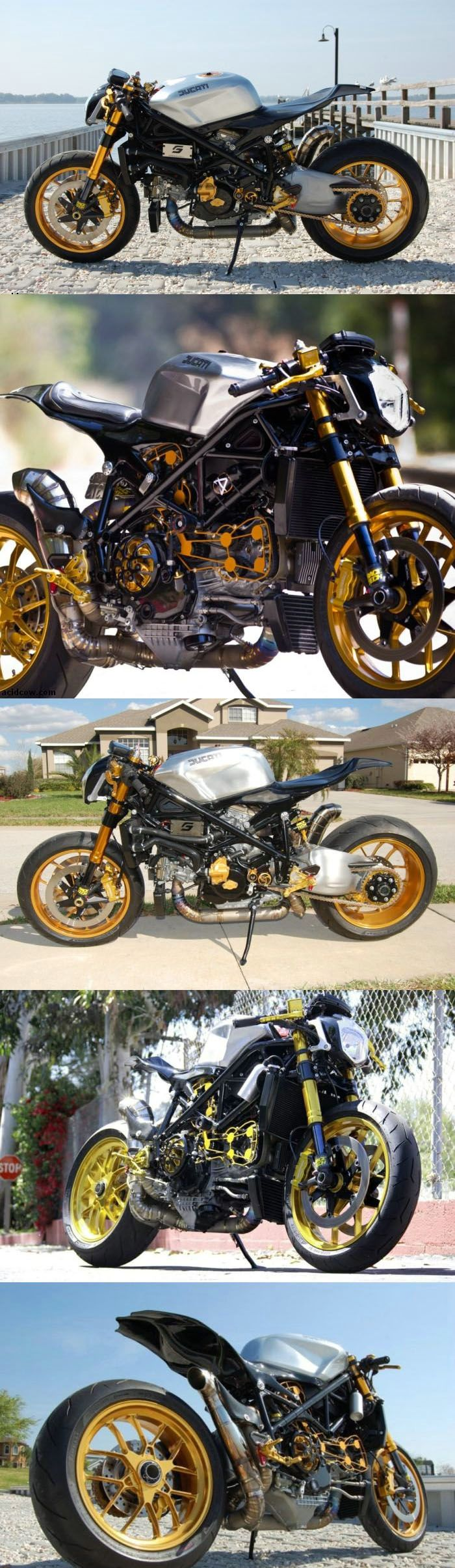 STRANGE RACERS - CUSTOM STREETFIGHTER DUCATI 1098 CAFE RACER