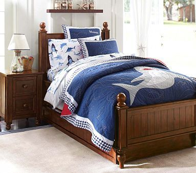 Thomas Bedroom Set #PotteryBarnKids  bed & dresser $1795