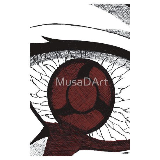 Mangekyo Sharingan Eye Available to buy on… T-Shirts, Hoodies and Stickers Naruto Shippuden.