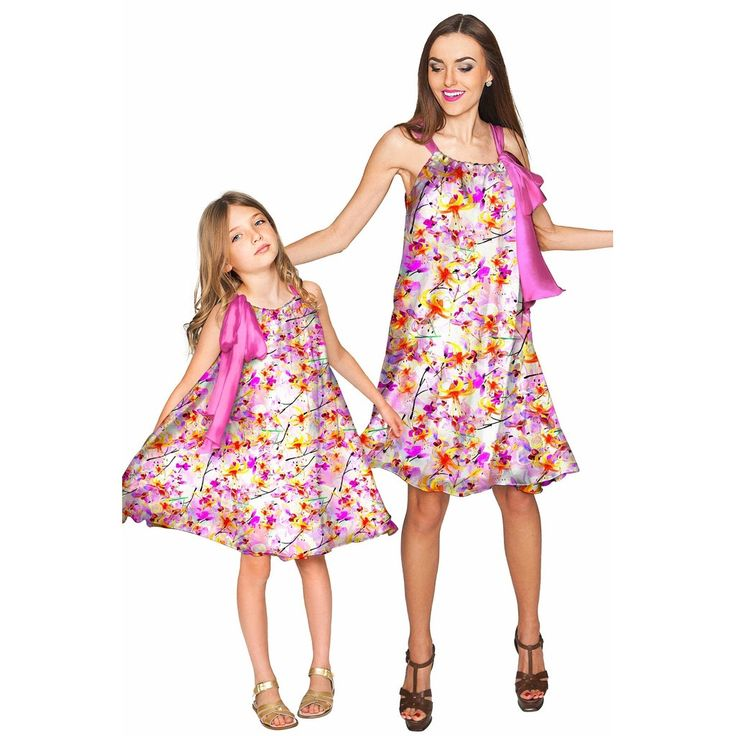 Vendor: Pineapple ClothingType: Women - Apparel - Dresses - CocktailPrice: 69.00 - 166.00 (16 variants)  You can't even imagine how much you will love our mother daughter dresses! Take a look at our Melody halter dress. It has a beautiful swingy effect and feminine neck tie. Made from luxurious eco-friendly chiffon-charmeuse and lined with super soft and cozy white stretch knit this charming dress looks gorgeous on girls and women of all ages and with different body types. Its very flexible…