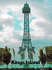 Kings Island, near Cincinnati, ohio