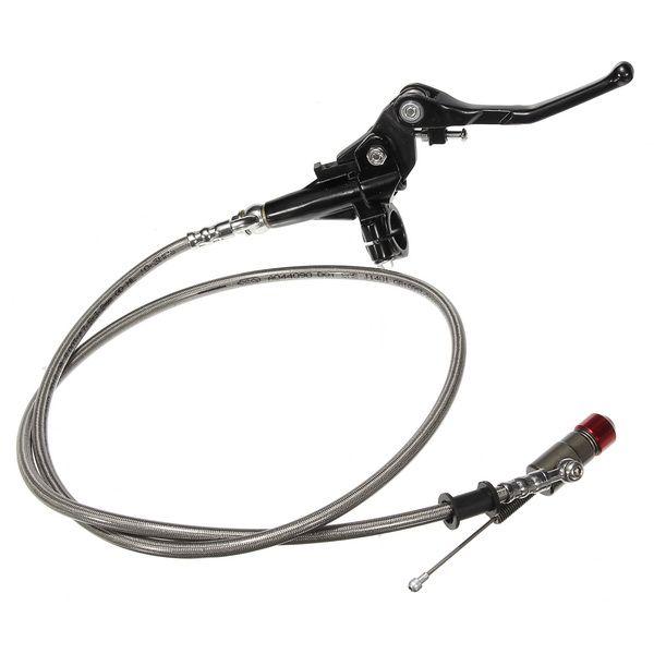 7/8 pulgadas 1.2 m hidráulico freno embrague palanca cilindro maestro para moto atvs moto pit dirt bike