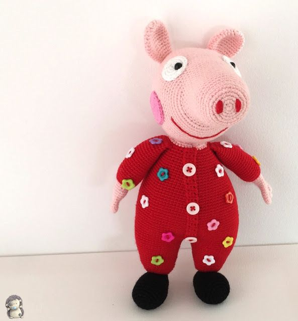 Amigurumi Peppa Pig Crochet Pattern : 1000+ images about SOLO PARA MI BEBE on Pinterest ...