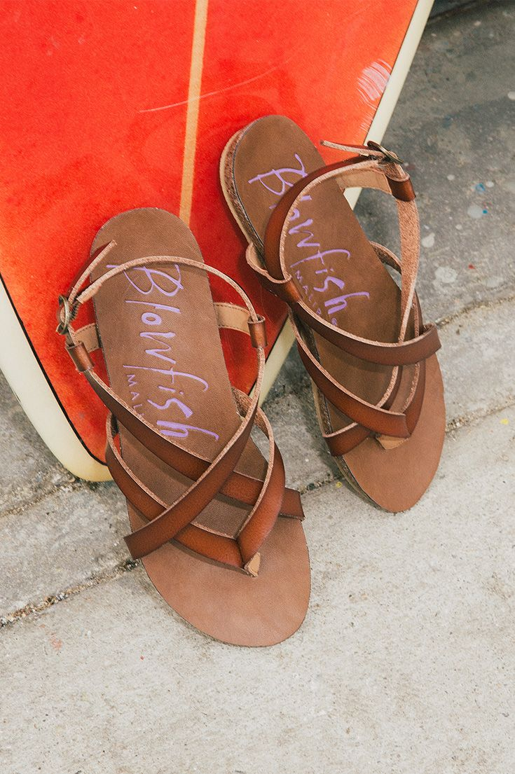 Our favorite Blowfish Shoes sandal Granola is a show stopper! With a faux-cork sole, faux-leather straps, and an adjustable heel strap, these beauties will be your summer-go-to sandals keeping you casual and comfortable all season long! Available in 9 colors and only $45! Such a warm weather, California style shoe!