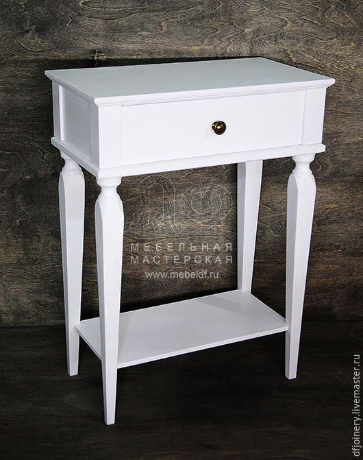 Мебель ручной работы. Ярмарка Мастеров - ручная работа. Купить Тумба прикроватная из дерева. Handmade. Прикроватный столик, массив дерева
