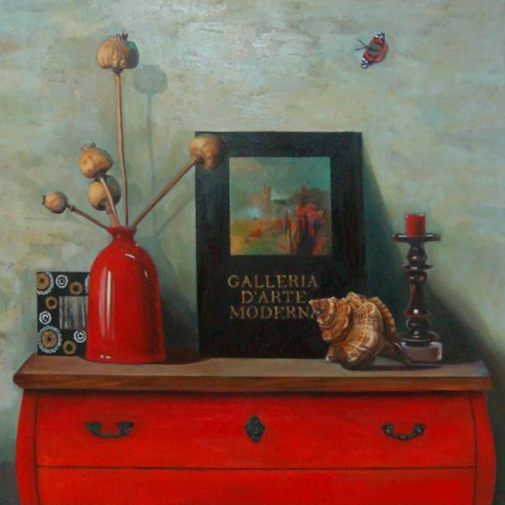 oil on canvas, 80x80cm