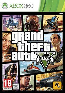 GTA V - Grand Theft Auto 5 - GTA 5 - Xbox 360 Game - New and Sealed Xbox Game - £39.99