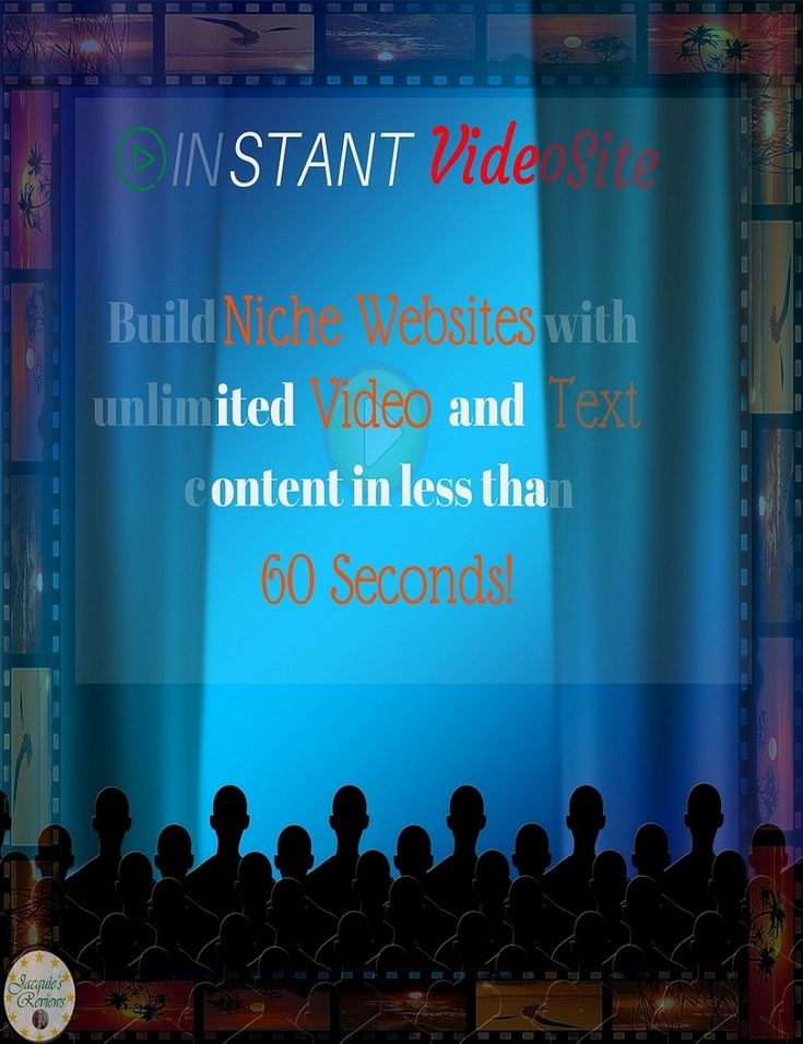 With Instant Video Site, you can make money building full blown niche websites with 100's of pages of SEO optimized video and text content in less than 60 seconds, without ever having to create any content yourself. Use Coupon Code ivs2off for Discount. #HomeBasedBusinessOpportunities #NicheWebsite