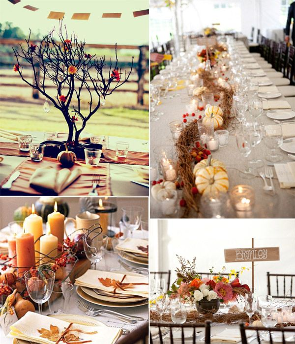 Fall Wedding Ideas Table Decorations: 10 Incredible Wedding Details For Fall Wedding 2014