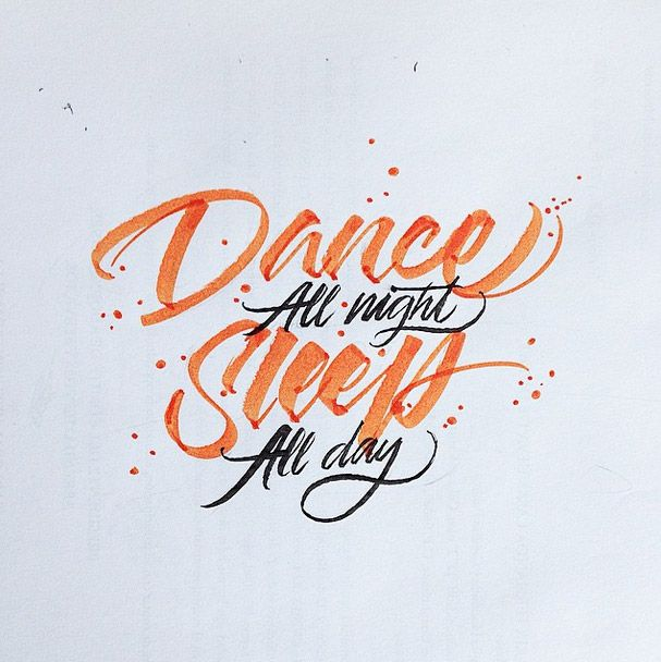 Calligraphy by David Milan