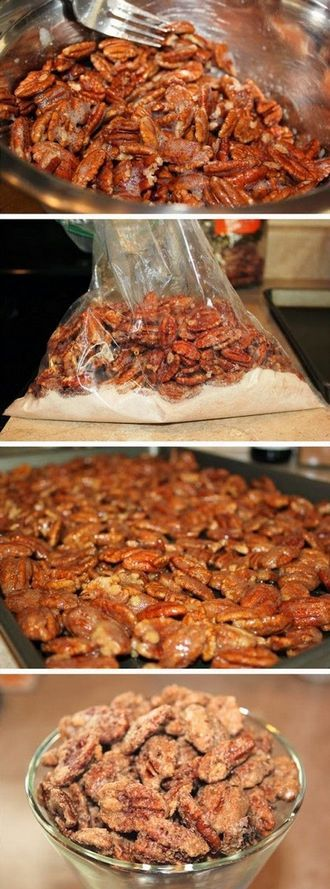 Cinnamon Sugar Pecans ~ They are Amazing!