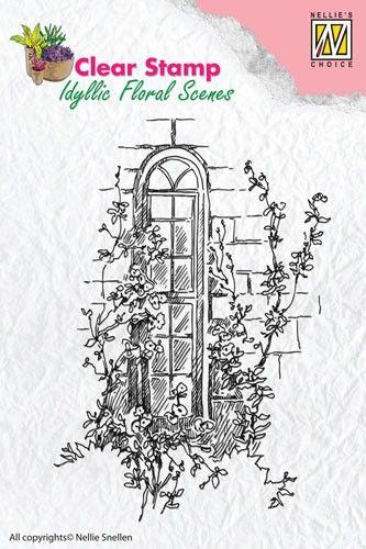 Transparentní razítka / 10x6,5cm / Idyllic Floral Scenes
