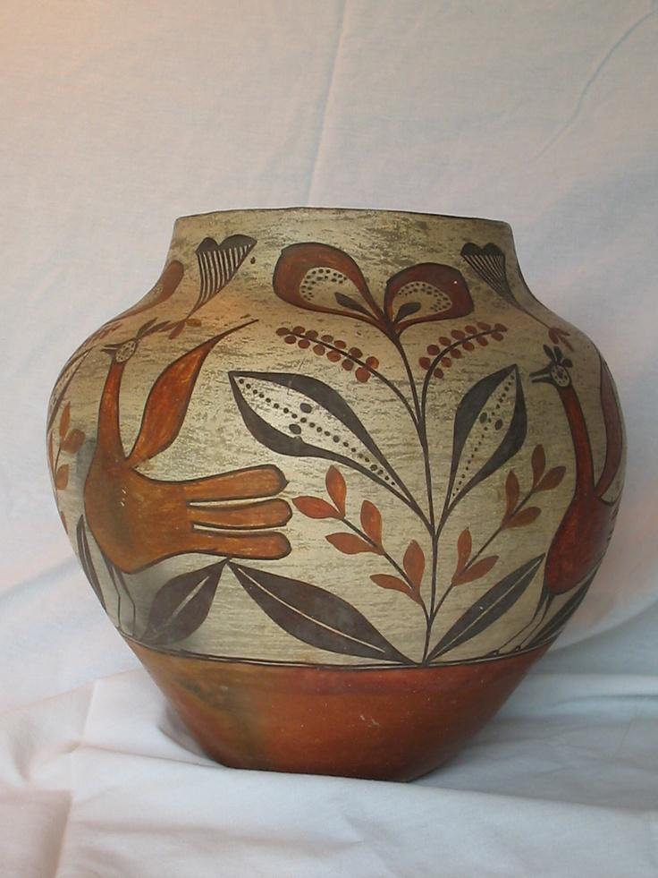 Zia Pottery Circa 1940 Artist Unknown My Zia Pottery