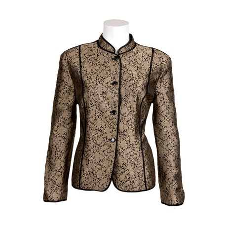 "Jones New York Plus Size Mandarin Collar Jacket (Retail Price $99.99) ""Our Price $27.00"" only at nomorerack.com"
