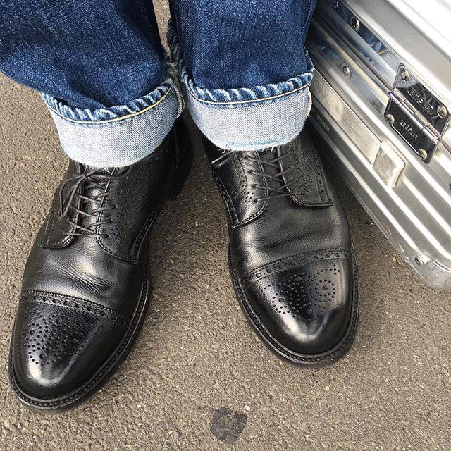 2018/01/09 11:01:43 shinjyukukutumigaki 今週の靴磨き 9日〜12日16:00〜20:00りよう室zangiri  #alden #aldenshoes #aldenarmy #オールデン #新宿 #靴磨き #新宿靴磨き #shoecare #shoeshine #shoeshiner #shoestagram #shoeslover #mensshoes #mensfashion #メンズファッション #メンズ #ファッション #紳士靴 #靴 #革靴 #saphir #サフィール #足元倶楽部 #東京 #理容室 #バーバー#tokyo #nofilter #お洒落さんと繋がりたい
