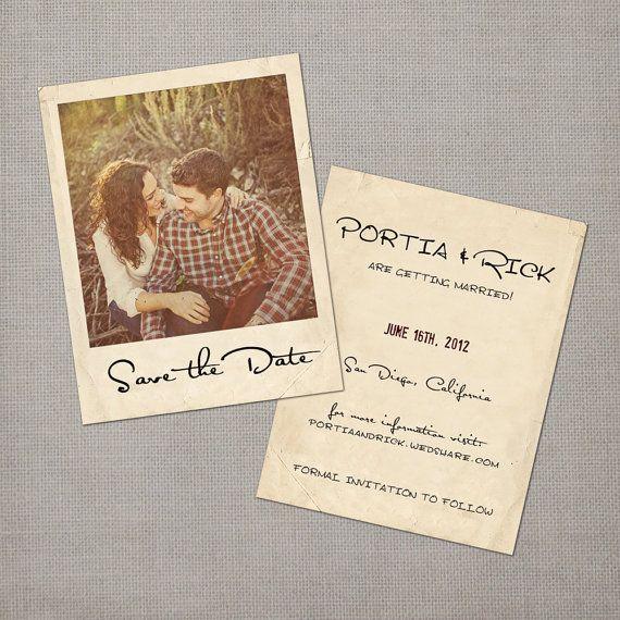 Extrêmement 25+ cute Vintage save the dates ideas on Pinterest | Vintage  AY69