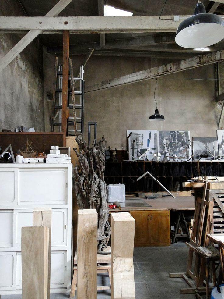 Les 30 meilleures images du tableau ateliers d 39 artistes for Loft et atelier