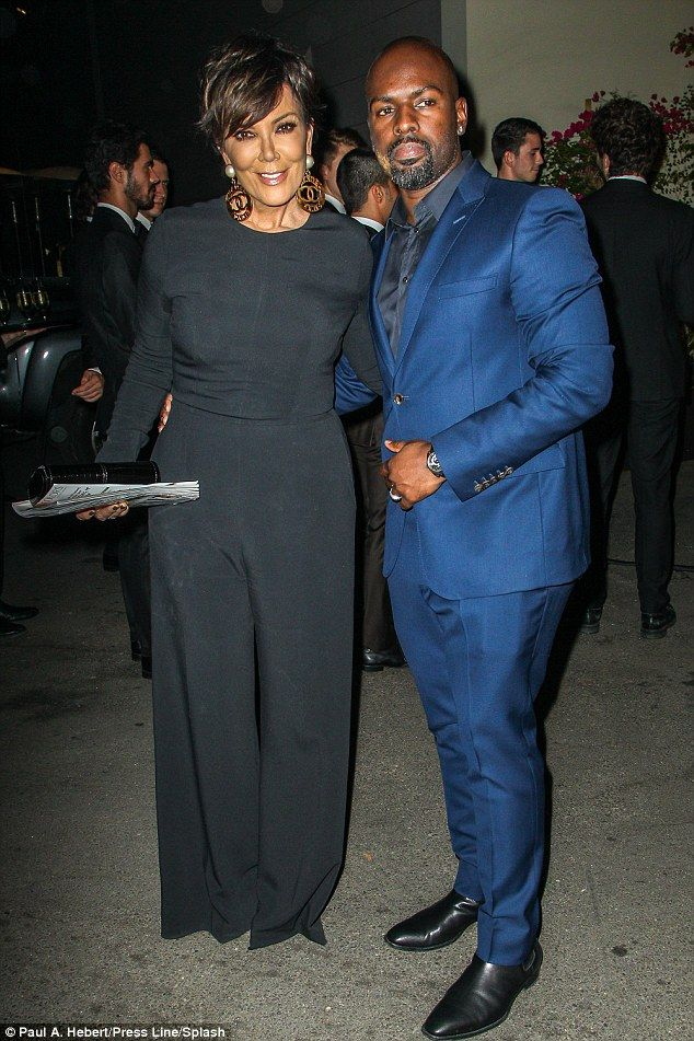 Kris Jenner, 59, also has a toyboy in the form of 34-year-old Corey Gamble, a road manager with Justin Bieber's manager, Scooter Braun's SB Projects