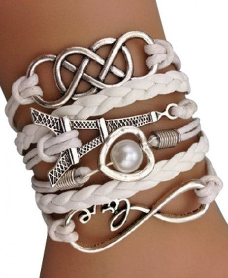 Forever in Love with Paris Arm Party Bracelet