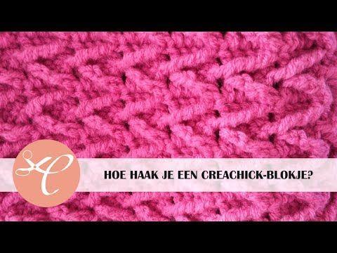 CreaChick-blokje haken tutorial KABANIMA ÖRNEK