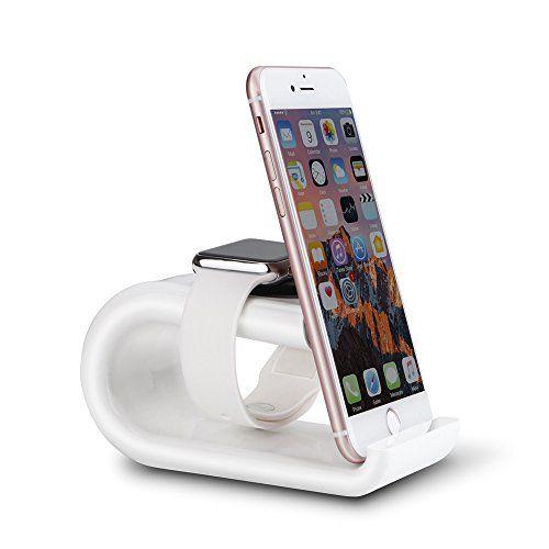 nice Mondpalast @ Carga Soporte Plataforma de Cargar Soporte cargador estación Dock Soporte Soporte de carga para reloj inteligente smart watch Apple Watch APPLE WATCH II Apple Watch Serie 1 Series 2 42mm 38mm iPhone 7 7+ SE 6s 6s plus 6 6 Plus iPad