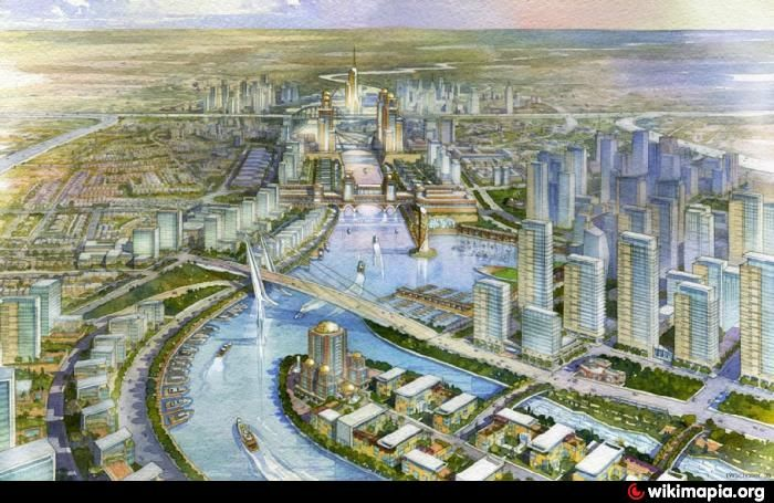 #Arabian #Canal :  The Arabian Canal, is a planned 75 km man-made canal, that is on hold. The #canal would begin at the #Dubai #Marina, where some excavation was begun, and will go round the #Al #Maktoum #International #Airport before entering the sea again at the outer end of Palm Jebel Ali. #Dubai #Waterfront would form the first phase of the larger Arabian Canal. The canal is being developed by the company Limitless. http://bit.ly/1srKk8n