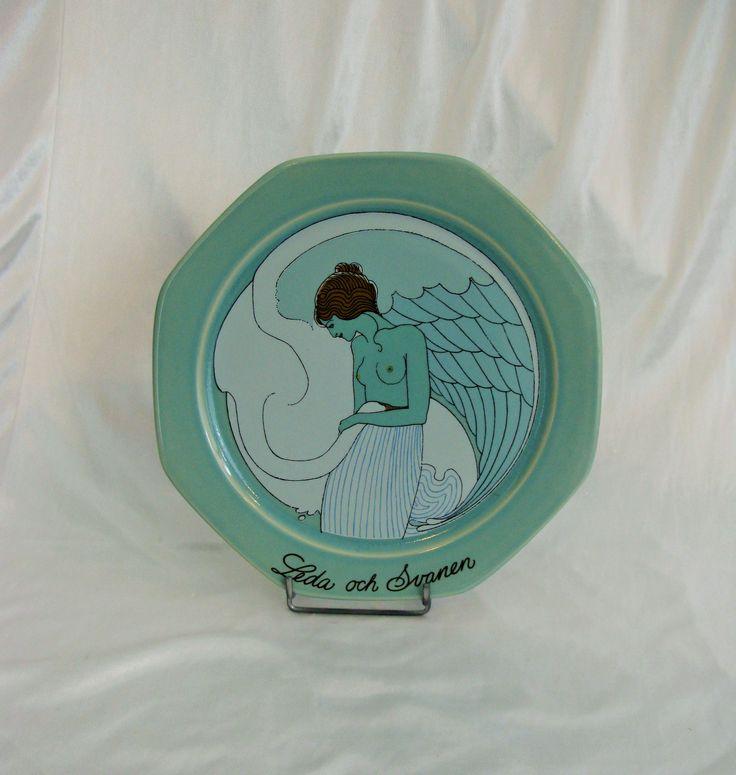 Talerz Ceramiczny wiszący.