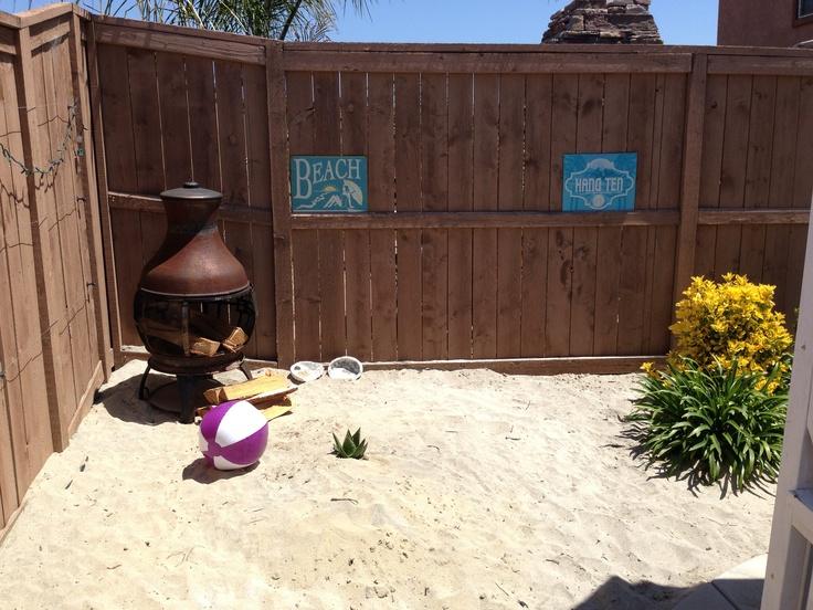 12 Great Ideas For A Modest Backyard: 8 Best Beach Inspired Backyard Images On Pinterest