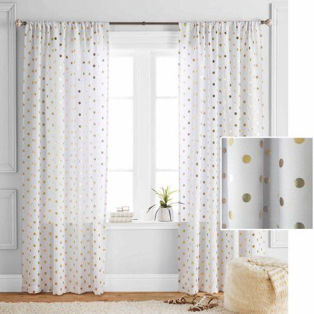Buy Better Homes and Gardens Polka Dots Panel at Walmart.com - Free Shipping on orders over $50