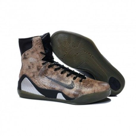 49d5b67b8e42 ... coupon code the cheap authentic nike kobe 9 high ext qs snakeskin black  shoes factory store