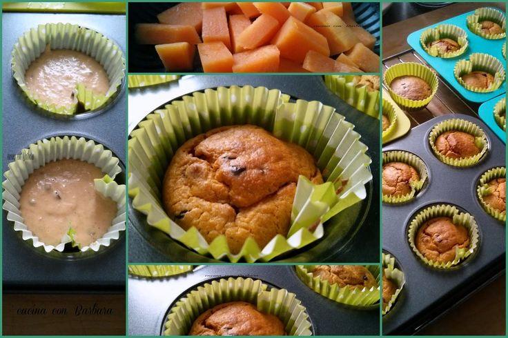 Cucina con Barbara: Muffin alla zucca e gocce di cioccolato