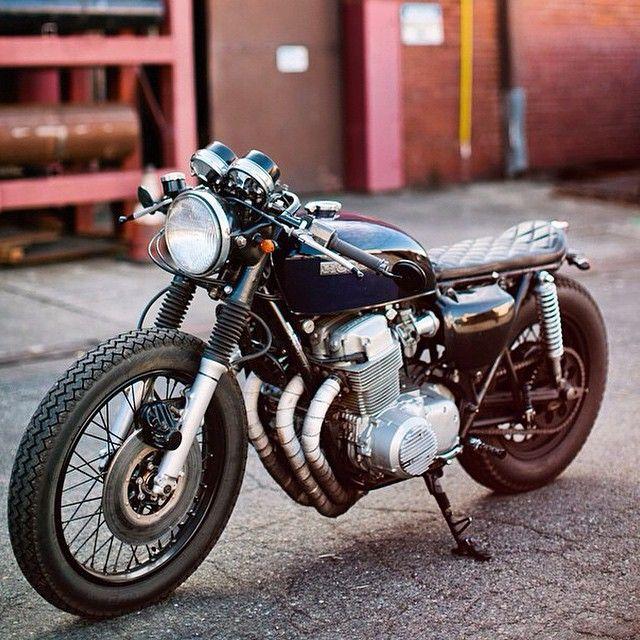 Nice Honda CB Cafe Racer