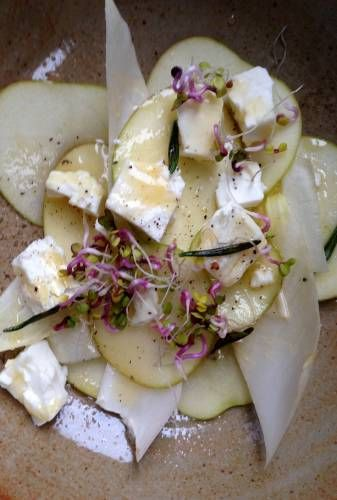 Nigel Slater - Kitchen - chicory, pears and feta