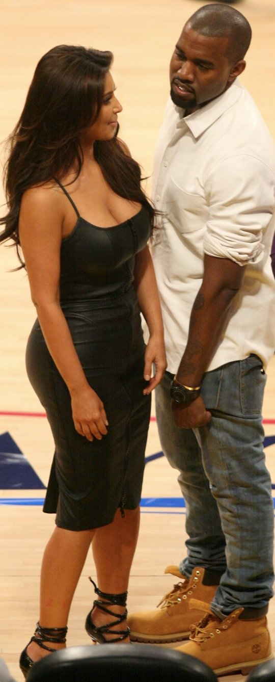 CAN THE MEDIA ALL JUST GET A DAMN LIFE!!  Kim Kardashian and Kanye West