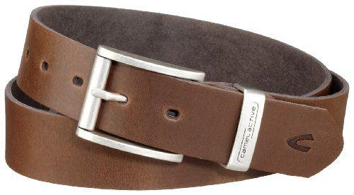 Camel Active Men's Leather Belt Brown M