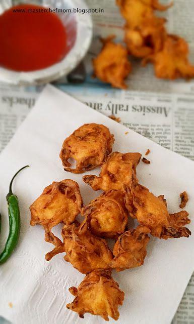 MASTERCHEFMOM: Kanda Bhaji | How to make Kanda Bhaji | Bombay Str...