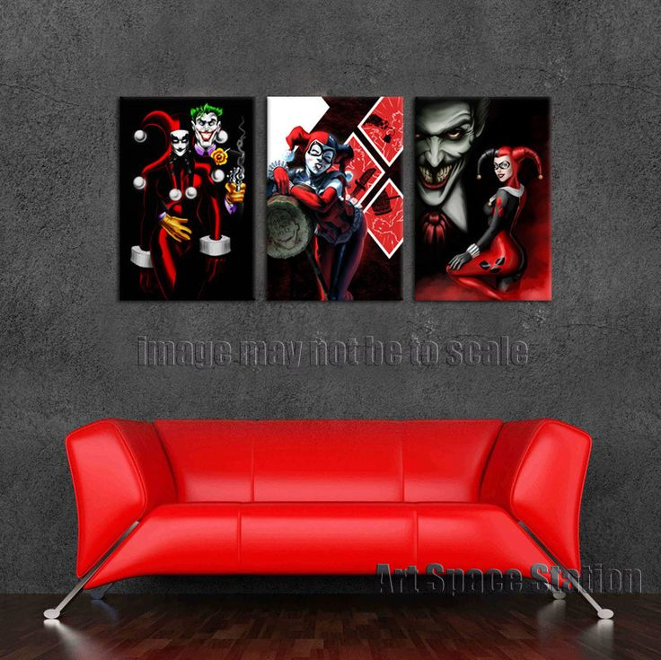 545 best images about harley quinn on pinterest mad love for Harley quinn bedroom designs