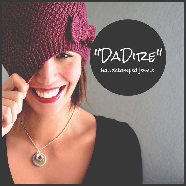 """Collana personalizzata incisa a mano """"DaDire"""" scrivi le tue parole elegante unica e inspirazionale di Cuony su Etsy https://www.etsy.com/it/listing/270521009/collana-personalizzata-incisa-a-mano"""