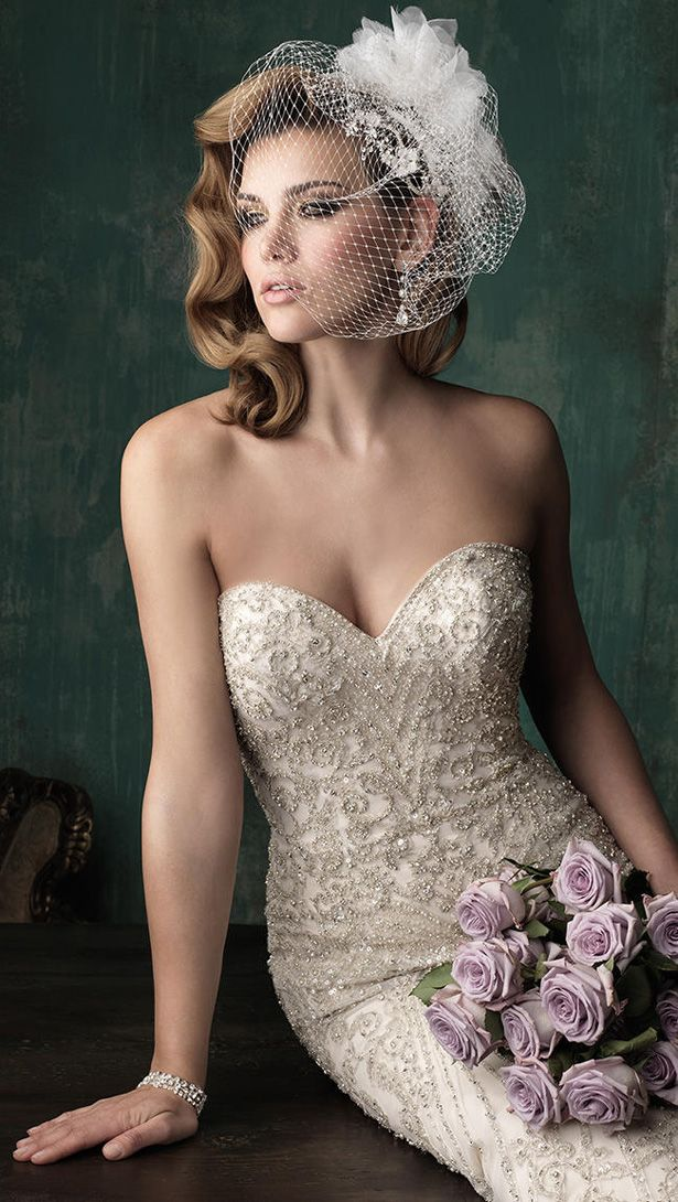 Allure Couture Fall 2015 Wedding Dress C348C